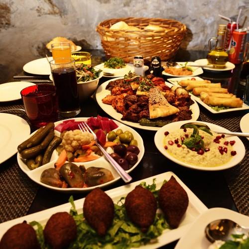 Kan Zamaam Restaurant, Amman, Jordan, Middle East, Orient