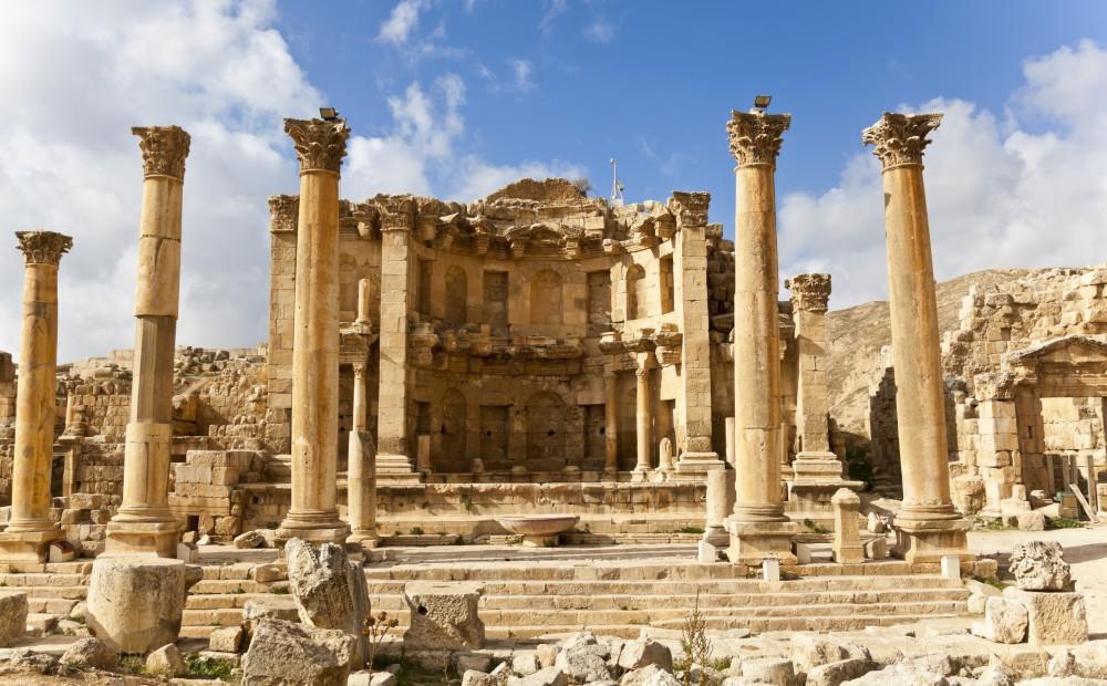 Nymphaeum at Jerash